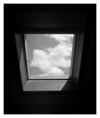 Wolken im Fenster - 23.05.2014