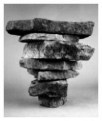 piled stones - 29.01.2015